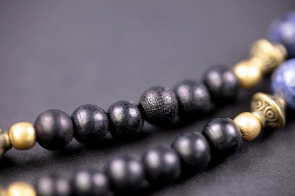Lapis Stone Beaded Necklace