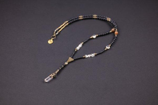 Crystal Quartz Beaded Necklace