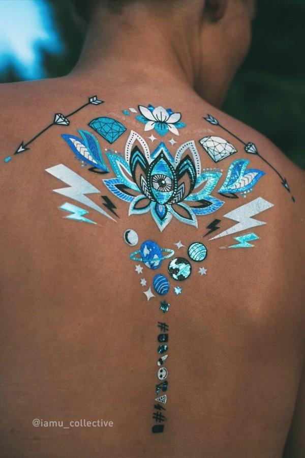 Iamu Collective Flash Tattoos - Tigerlily