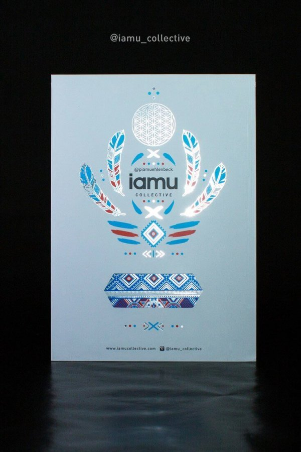 Iamu Collective Flash Tattoos - Pia