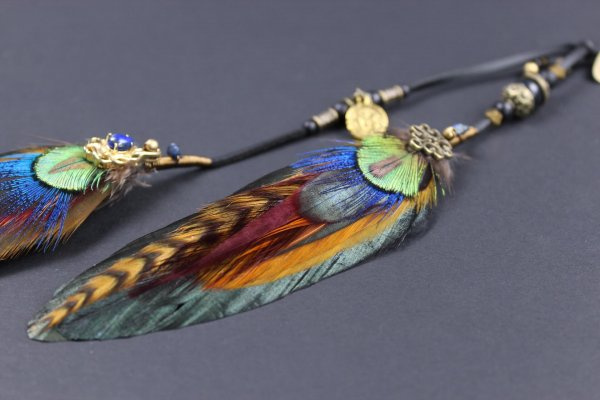 HENDRIX FEATHER HAIR CLIP