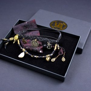 Crescent Moon Bracelet Set
