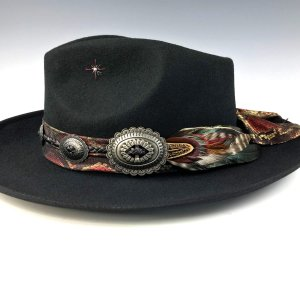 The Lizard King Fedora by Vera Black
