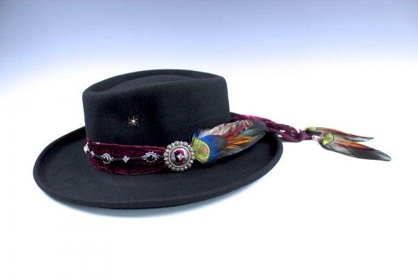 The Dreamweaver Gypsy Gambler Hat