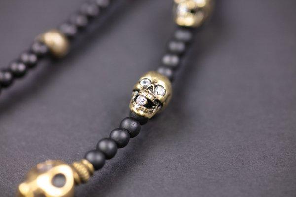 Thousand Skulls Keychain
