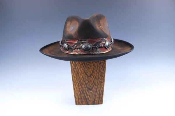 The Lizard King Fedora - Distressed Version