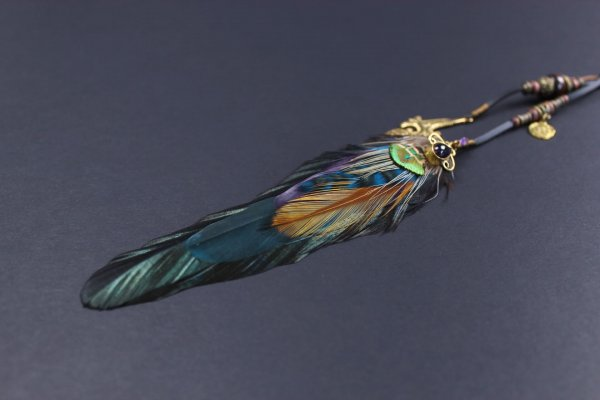 Limited Edition Feather Hair Clip