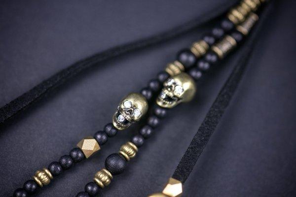 Three Skulls Single Keychain