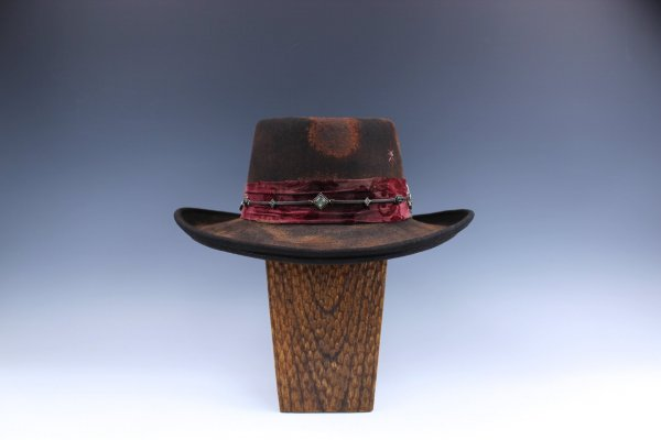 The Roma Rosa Gambler Hat
