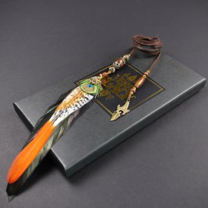 The Amazonia Bohemia Large Feather Braider