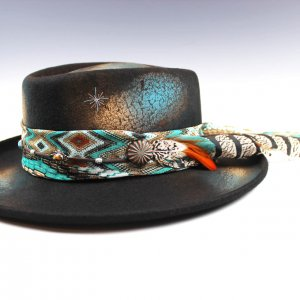 The Tequila Sunrise Gambler Hat
